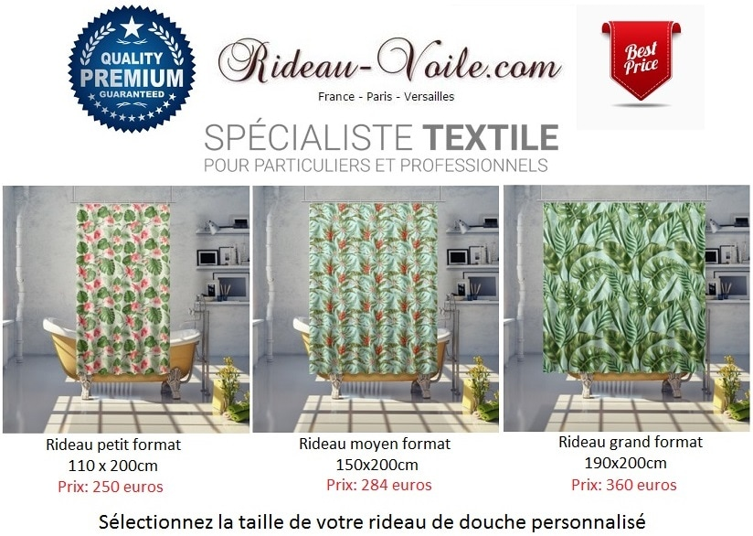 style d co exotique plantes feuilles tissu rideau. Black Bedroom Furniture Sets. Home Design Ideas