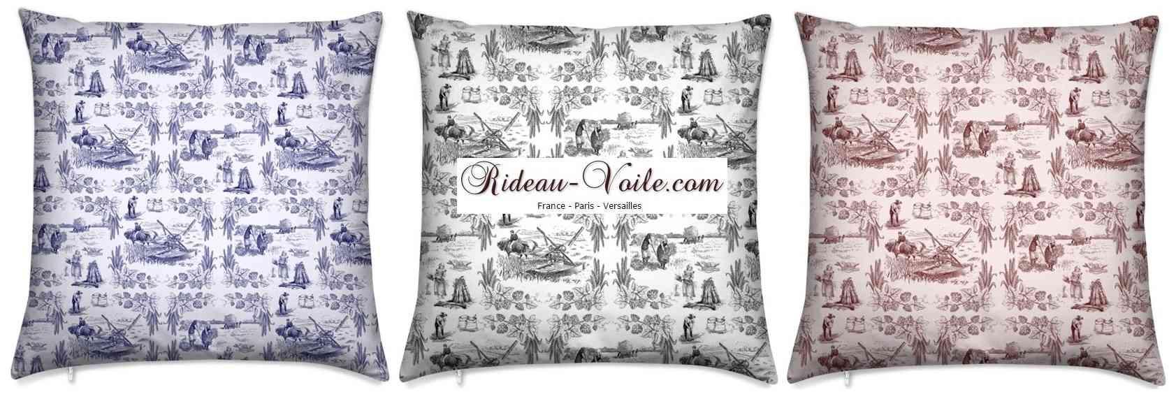 tissu imprim motif toile de jouy empire ameublement dcoration fabrics pattern empire french pattern upholstery paris