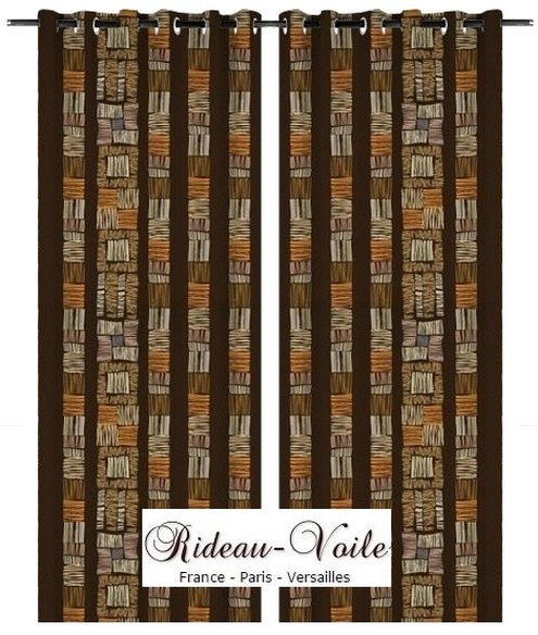tissu motif style pagne ankara rideau africain rideaux. Black Bedroom Furniture Sets. Home Design Ideas
