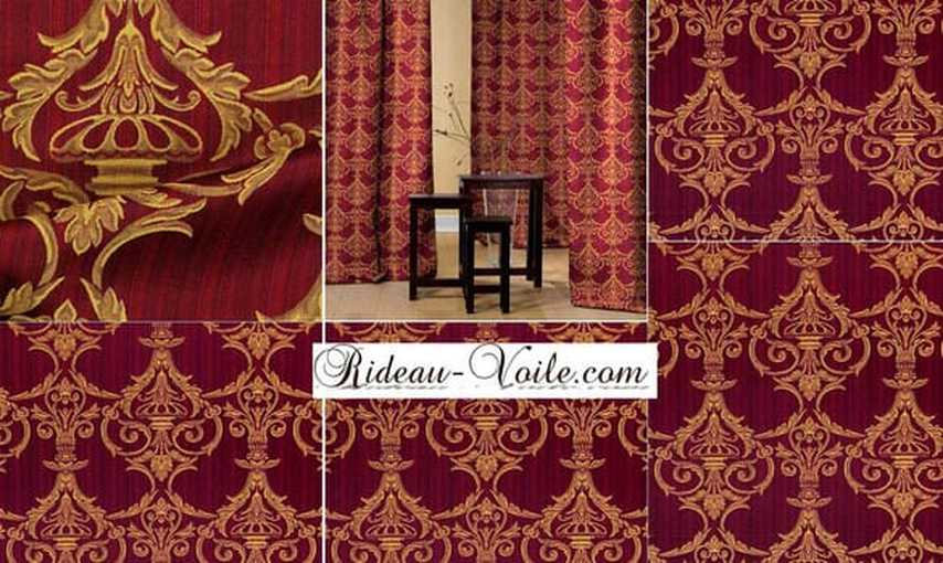 jacquard rideau tissu paris. Black Bedroom Furniture Sets. Home Design Ideas