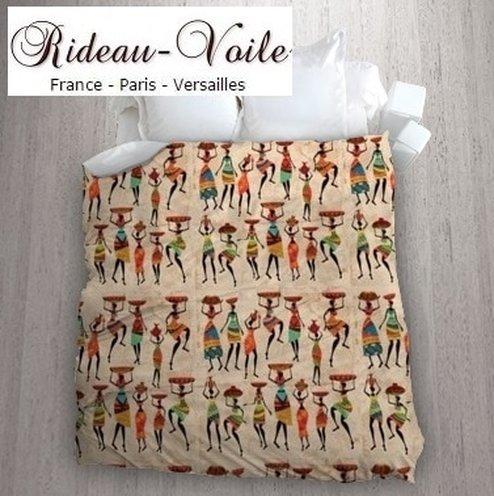 tissu africain motif femme