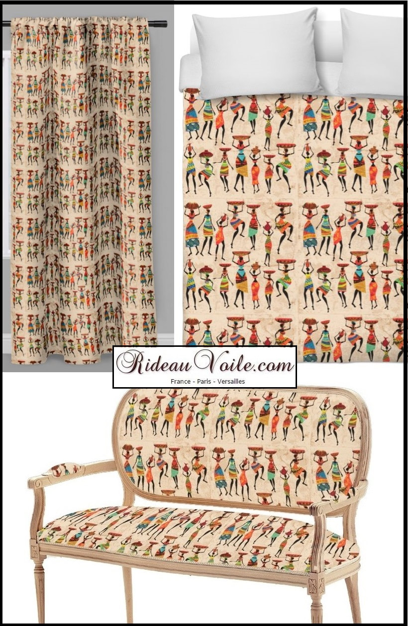 ANKARA FABRIC STORE AFRICAN DECORATION AFRICAN DRAPE METER. upholstery fabric,