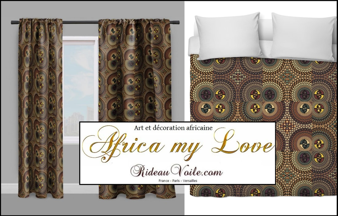 ANKARA FABRIC STORE AFRICAN DECORATION AFRICAN DRAPE METER. upholstery fabric, tissu motif africain, rideau motif africain, couette motif africain, décoration africaine, tissu wax ankara,