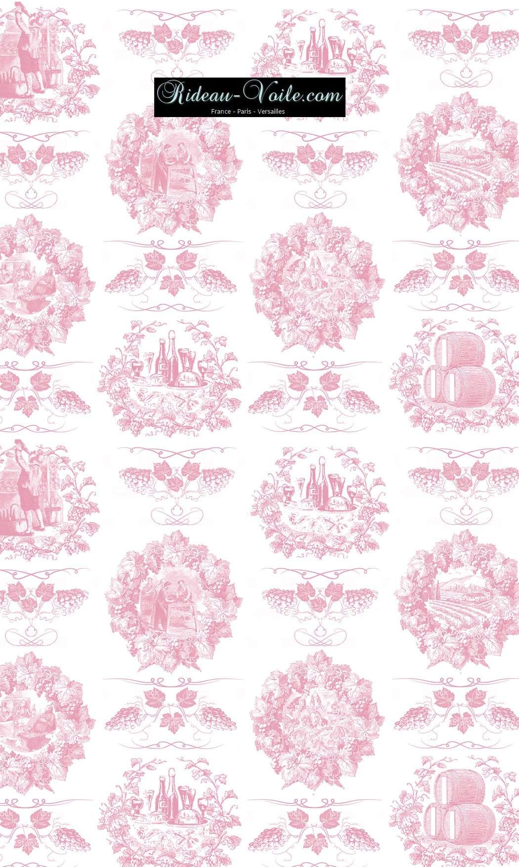 Toile de jouy tissu motif imprimé ameublement décoration tapisserie linge de maison housse coussin couette luxe lit fabric pattern printed home furnishing decoration tapestry linens cover cushion quilt luxury upholstery rose pink