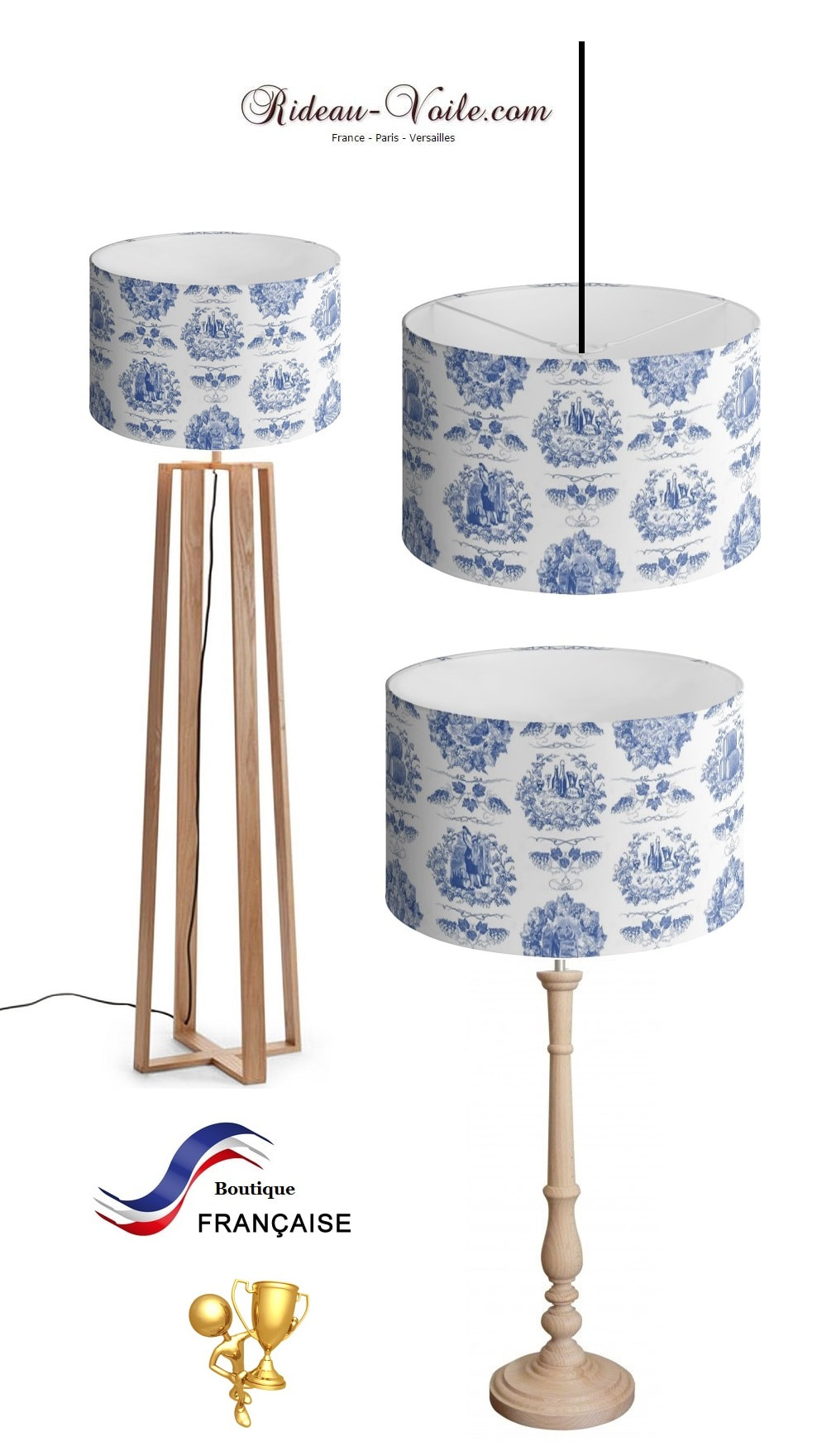 Toile de jouy tissu motif imprimé ameublement décoration tapisserie linge de maison housse coussin couette luxe lit fabric pattern printed home furnishing decoration tapestry linens cover cushion quilt luxury upholstery lampshade abat-jour lampe luminaire