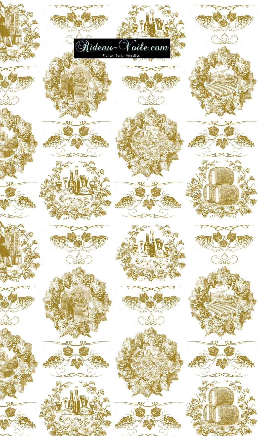 Toile de jouy tissu motif imprimé ameublement décoration tapisserie linge de maison housse coussin couette luxe lit fabric pattern printed home furnishing decoration tapestry linens cover cushion quilt luxury upholstery or golden gold