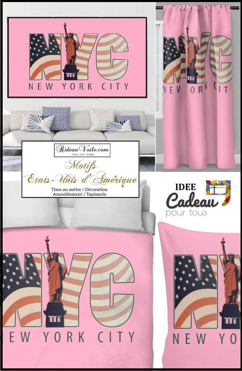 Wéi wielen ech d'Gréisst vun Ärem gedréckte Muster Duvet Cover USA tissu imprimé fabric printed USA pattern motif design coussin rideau douche couette original ignifugé occultant state unided drapeau indepence day